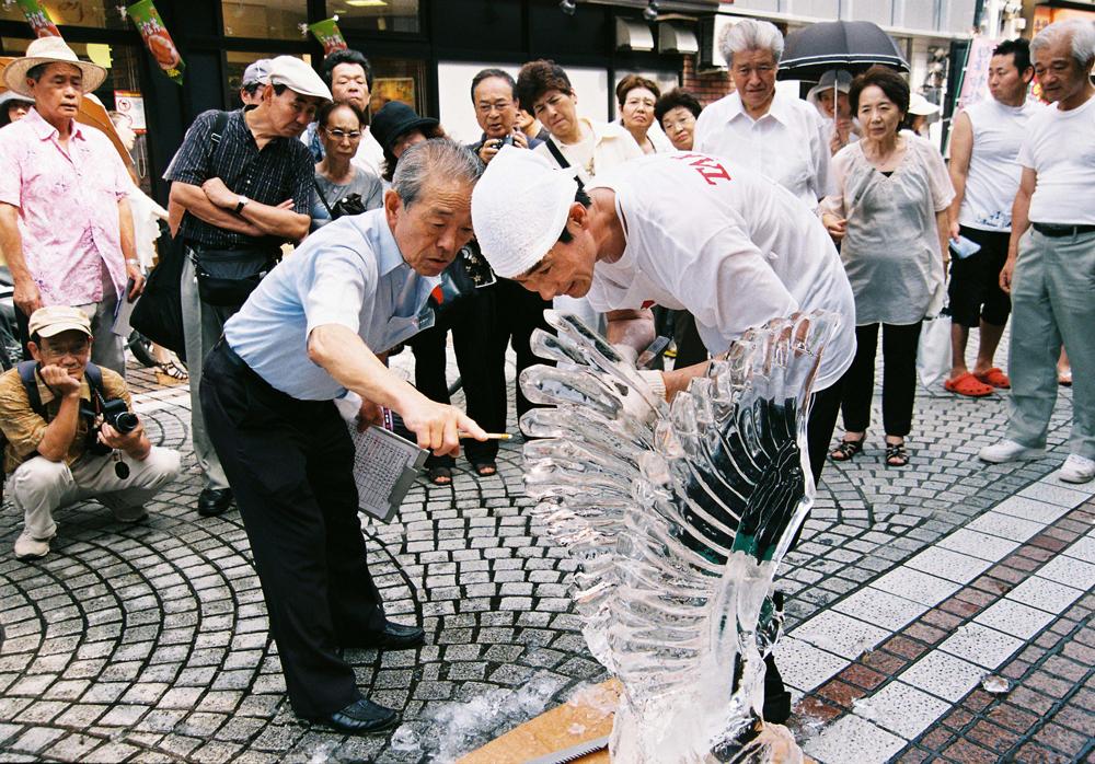 第52回氷彫刻技術コンクール小田原大会