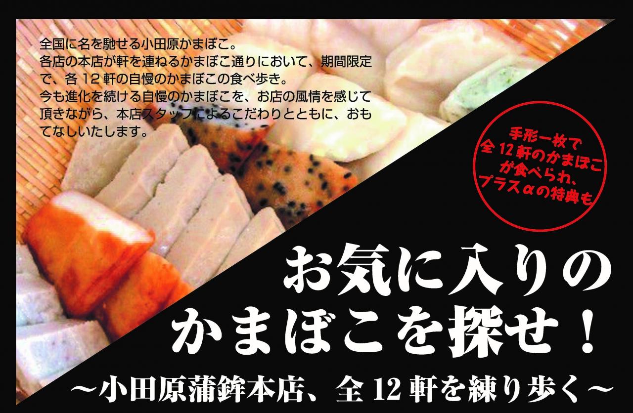 お気に入りのかまぼこを探せ!~小田原蒲鉾本店、全12 軒を練り歩く~
