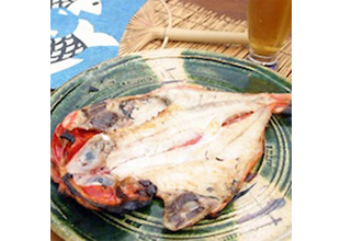 Of string of Hayase made specially in store specializing in dried fish Odawara